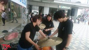 MEGURO MUSIC FESTAのお手伝いに。