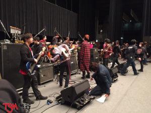 we are TSM渋谷!! 外部ホールリハーサル2日目。