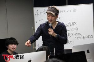 作曲家 白戸佑輔先生の特別講義を開催。