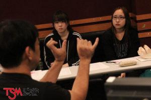 レコーディングの特別講義を開催。