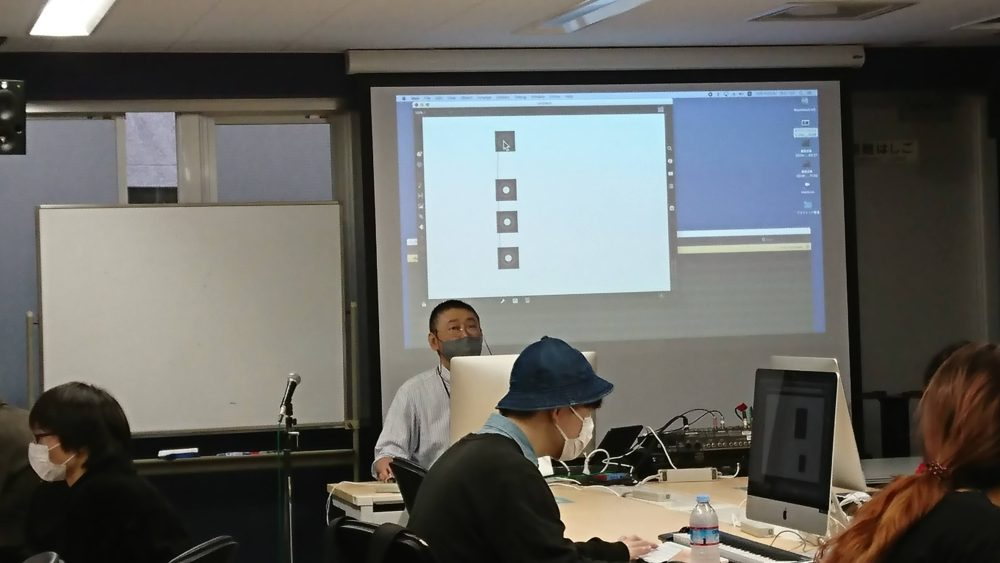 TSM渋谷MaxプログラミングBasic授業風景を公開♪