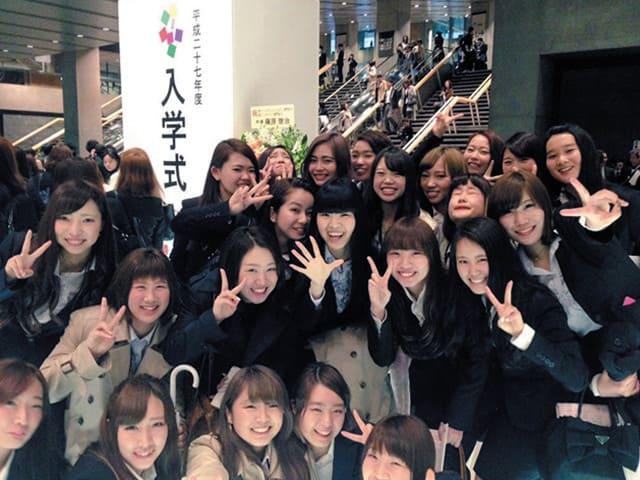 入学式・新入学生ダンス