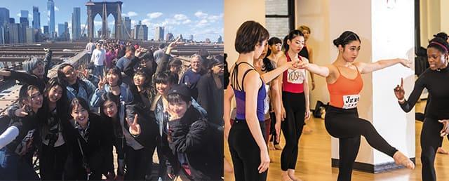 短期ダンス留学