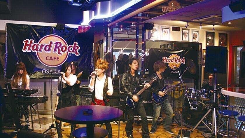 Hard Rock Cafeプロジェクト