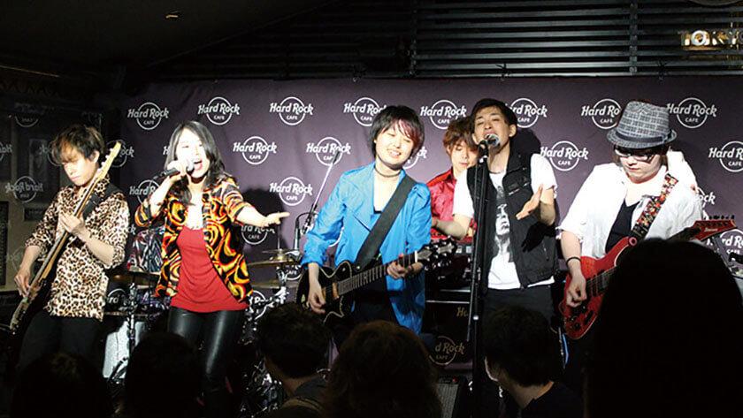 Hard Rock Cafe Tokyoミュージシャンプロジェクト