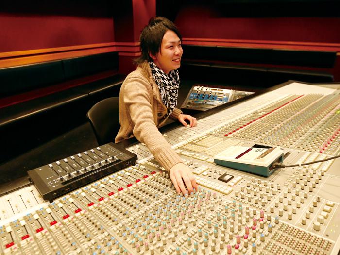 SSLレコーディングスタジオ