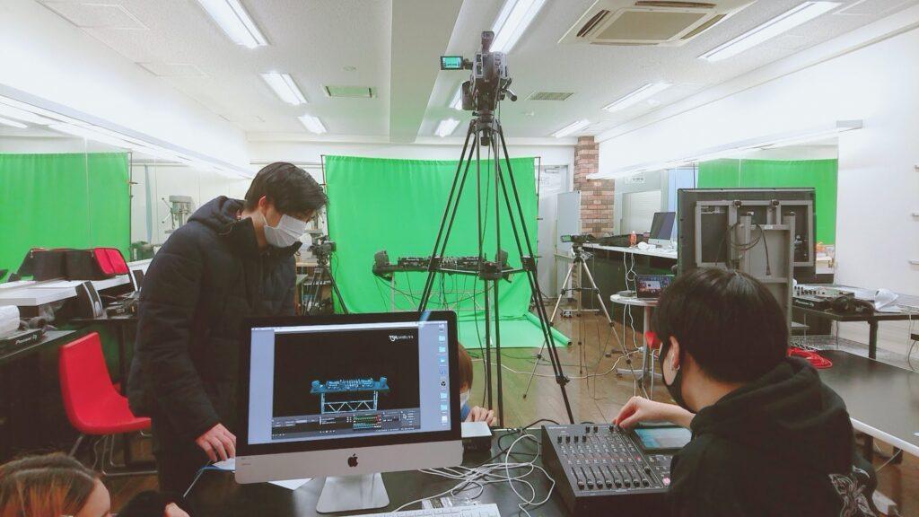 TSM渋谷 DJパフォーマー&トラックメーカーコースのライブ配信練習風景✨